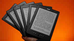 "One bookseller says of the new Amazon Source program to sell Kindle e-readers: ""That's not coo"