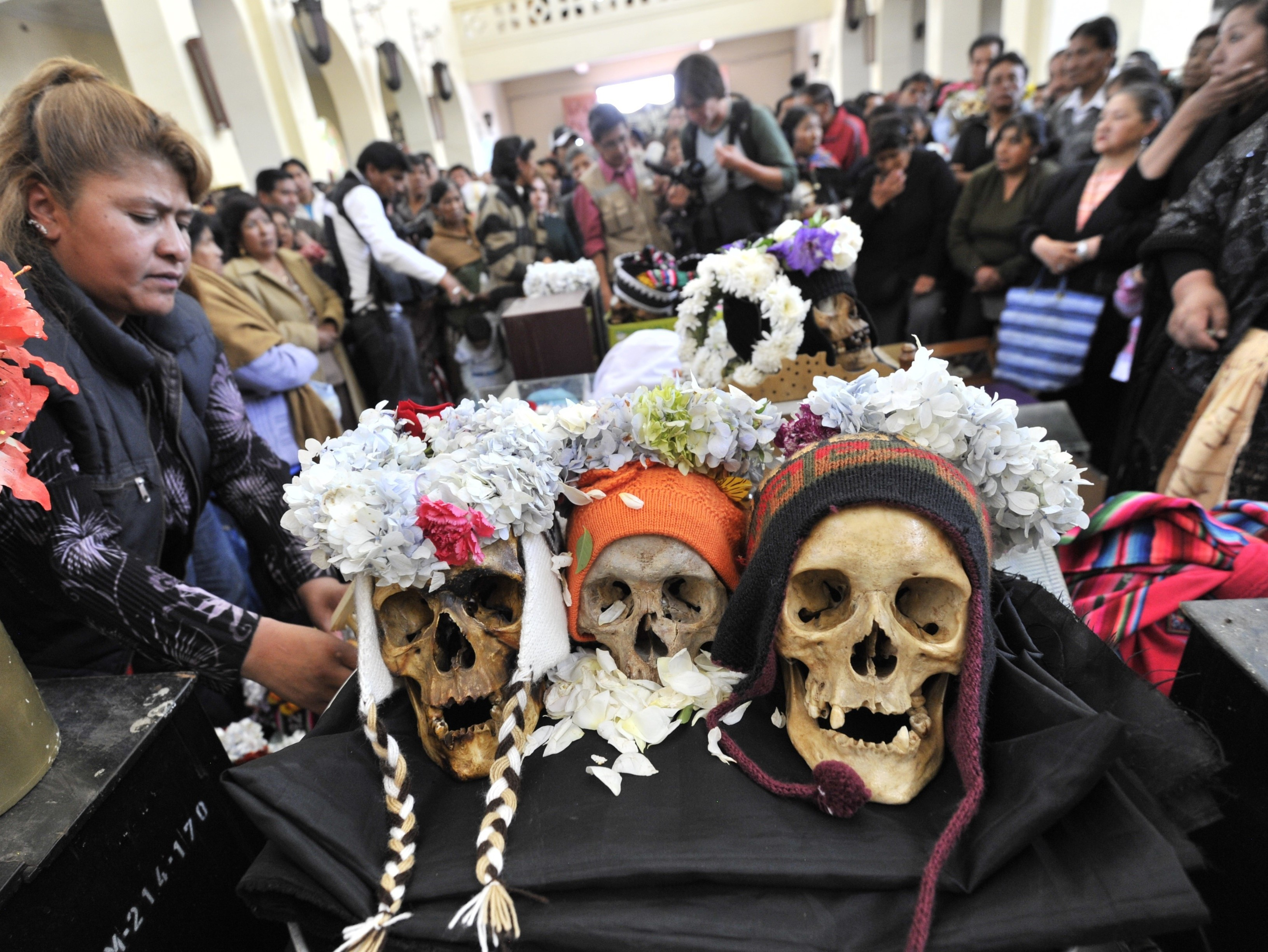 Bolivian Skull Ceremony Blends Ancient Rite With Catholicism