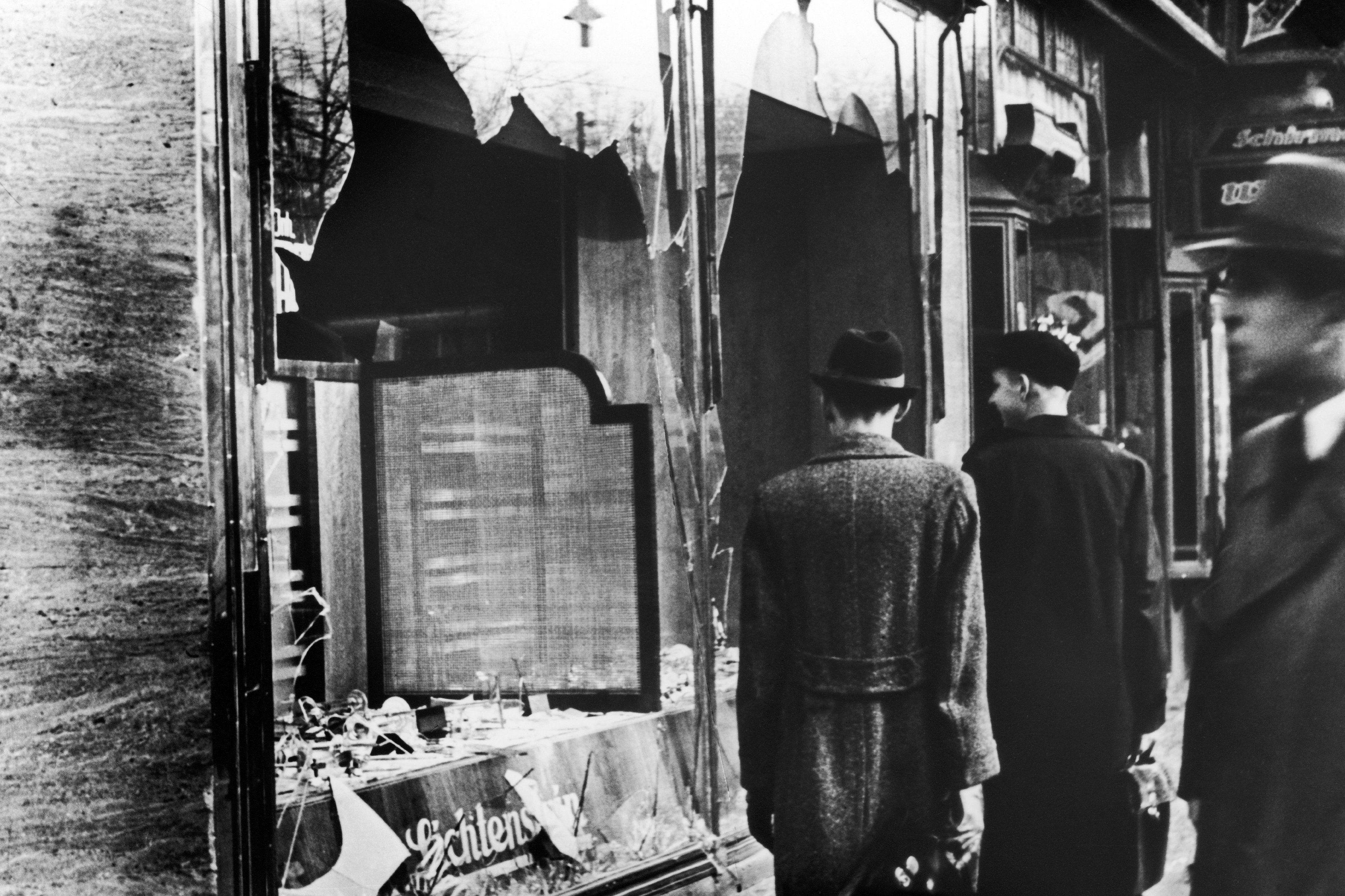 Bearing Witness To Nazis' Life-Shattering Kristallnacht