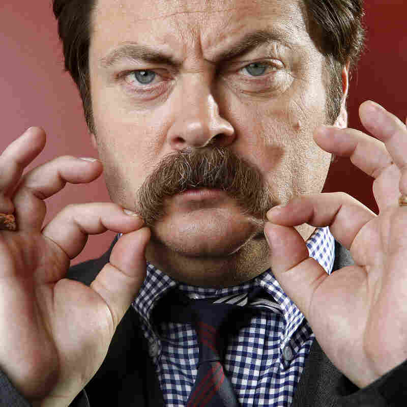 Not My Job: We Quiz Nick Offerman On The Finer Points Of Manhood