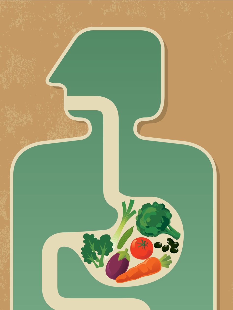 While no one's sure which foods are good for our microbiomes, eating more veggies can't hurt. (iStockphoto.com)