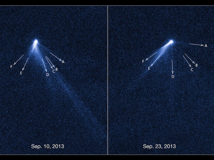 Astronomers Find Bizarre 'Lawn Sprinkler' Asteroid