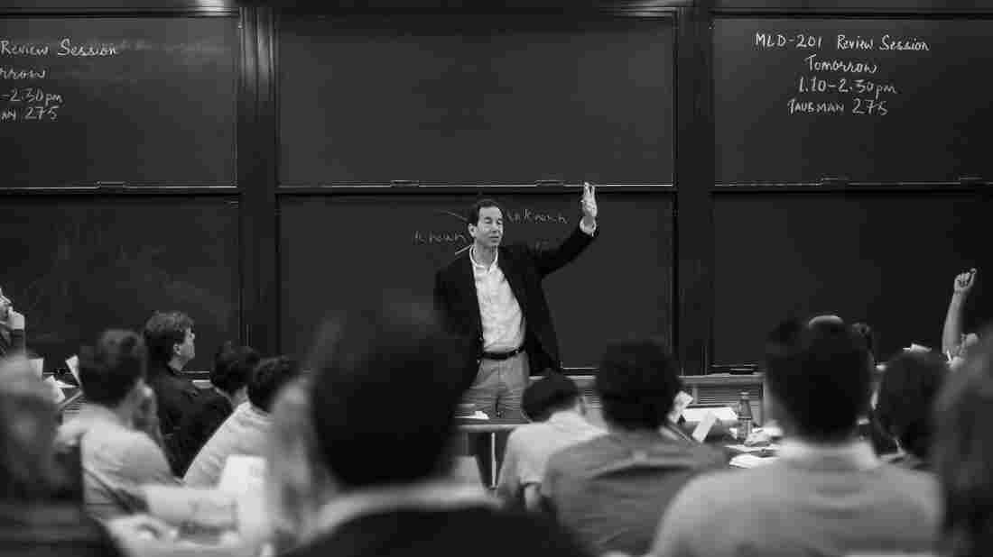 Ronald Heifetz draws on his training as a psychiatrist to coach aspiring leaders at Harvard's John F. Kennedy School of Government.
