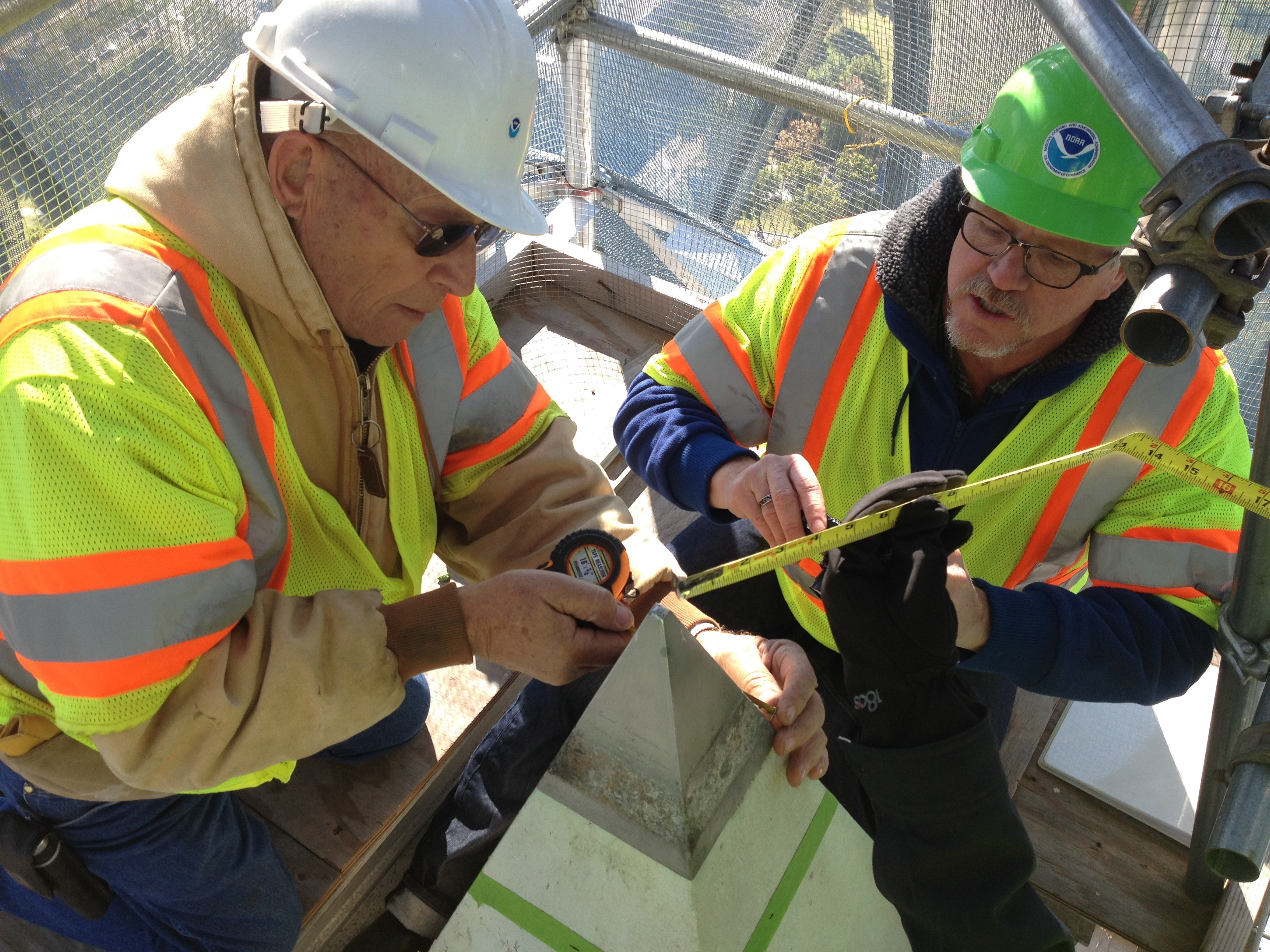 How Tall Is The Washington Monument? Surveyors Take To The Top