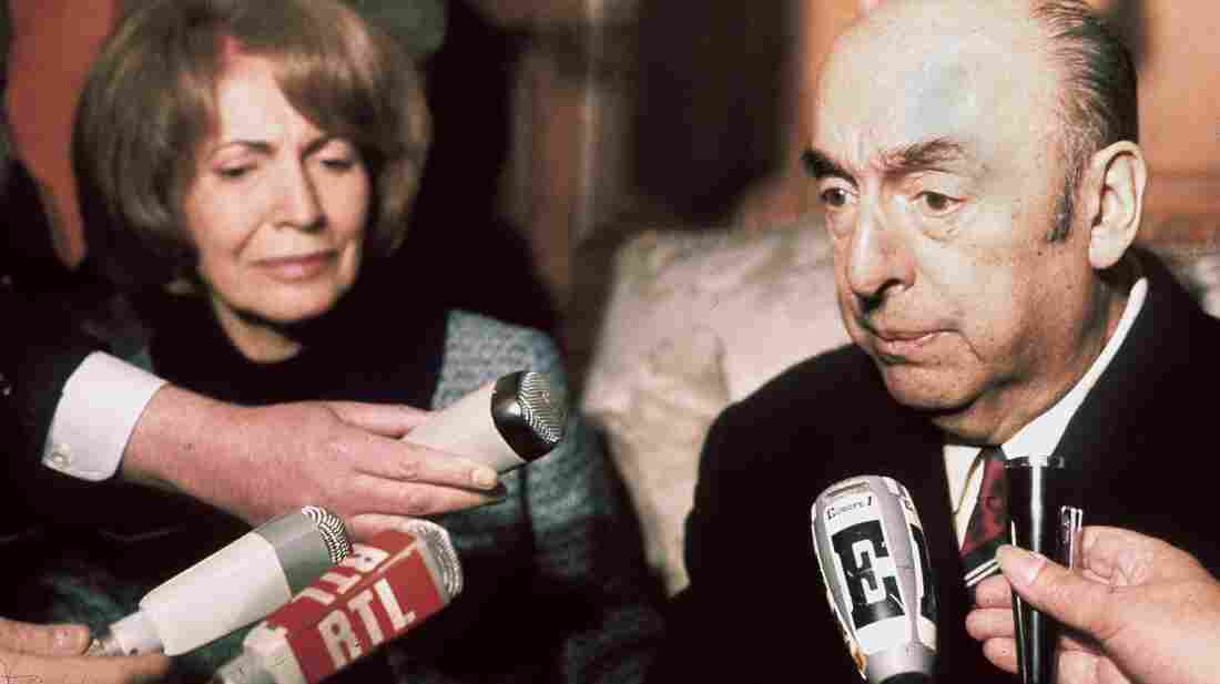 Chilean writer and diplomat Pablo Neruda died from prostate cancer, not poison, officials say. He was serving as Chile's ambassador to France in 1971 when he was awarded the Nobel Prize in literature.