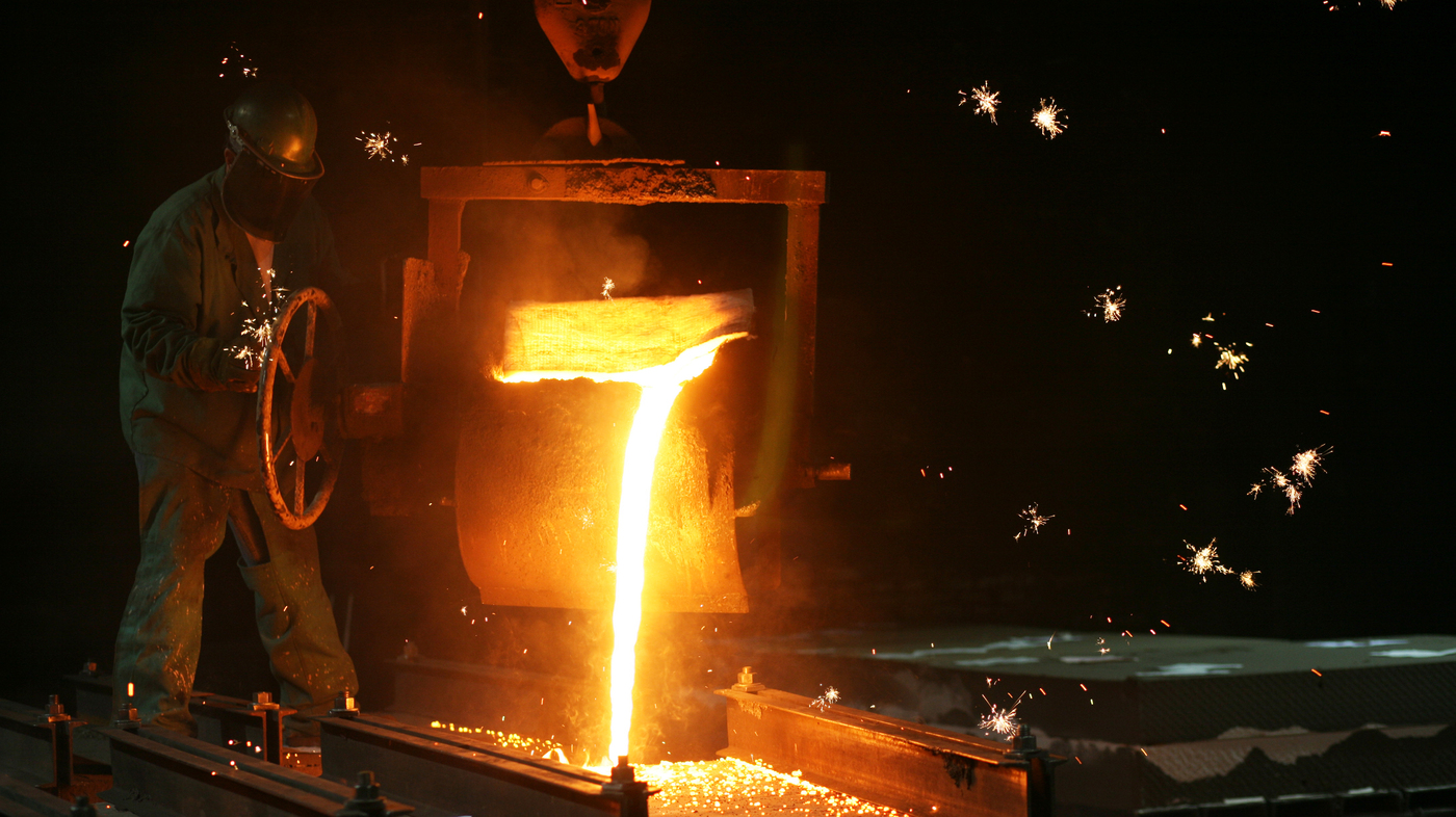 In The Heat Of The Foundry Steinway Piano Hearts Are