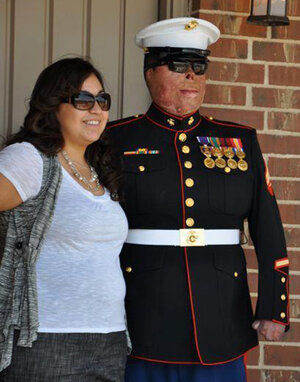 being married to a marine