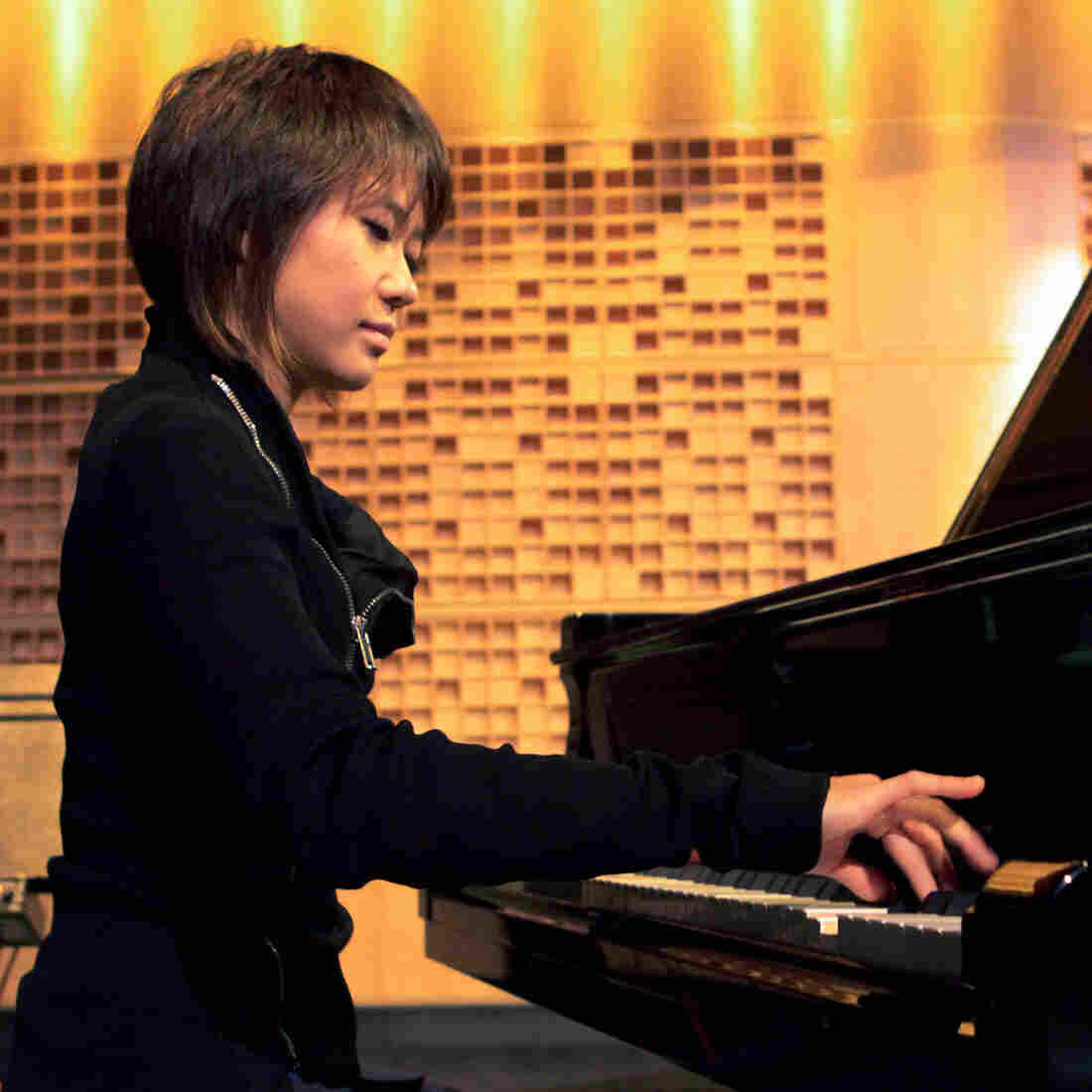 Yuja Wang at NPR's studio in Washington, D.C.