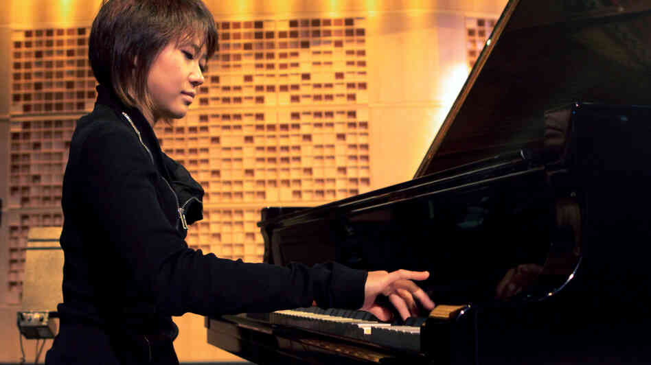 Yuja Wang at NPR's studio in Washington, D.C.
