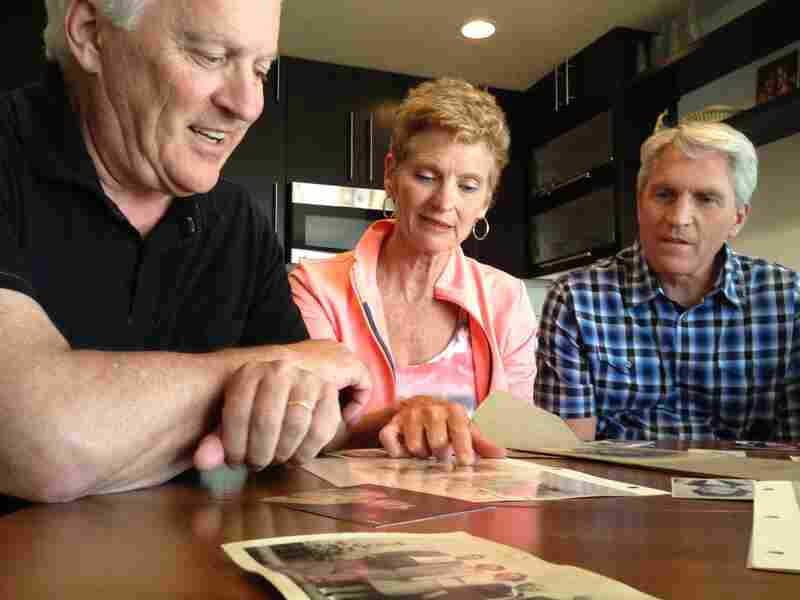 Elsie Fossum's niece, Janet Flynn, and nephews Jim Fossum, left, and John Fossum, say they never heard from California's Department of Public Health following their aunt's death.
