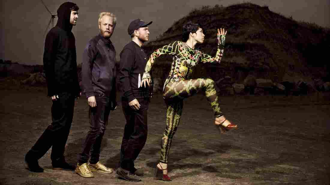 Swedish electro-pop band Little Dragon.