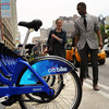 Citi Bike is the bike sharing program that launched this May in New York City. Bike sharing is part of the sharing economy.