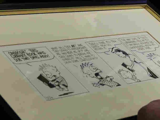 The film respects Watterson's famous desire for privacy — he's not interviewed — but it does take viewers to the library where the original Calvin artwork is housed.