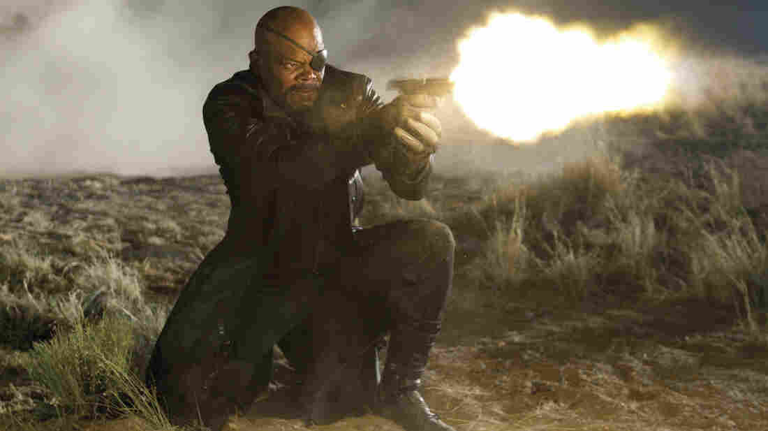 Gun violence has become increasingly common in PG-13 movies like The Avengers, released in 2012.