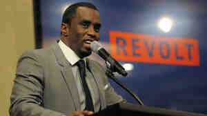 "Sean ""Diddy"" Combs speaks to reporters about his new network, Revolt, at the Television Critics Association press tour in July. Revolt is one of several new Comcast-distributed networks driven by and targeted at minority audiences."