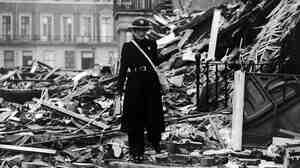 Benjamin Britten's War Requiem, written in response to the devastation of both World Wars, premiered in 1962.