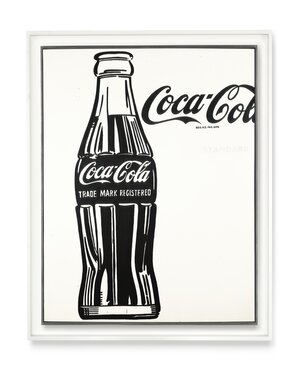 Coca-Cola (3) was one of many of Warhol's pop art pieces, which celebrated popular culture and consumerism in post-World War II America.