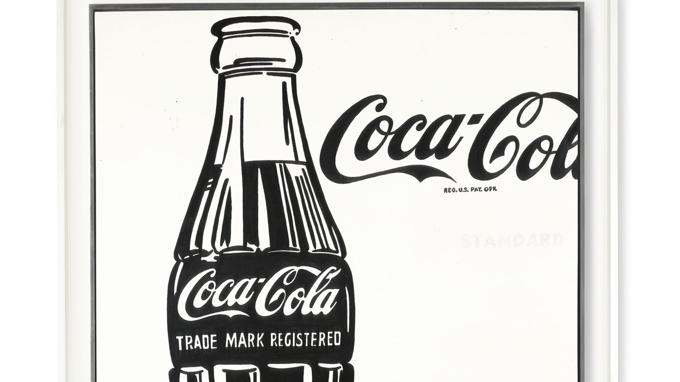 How About A Coke? Warhol Painting Up For Grabs : The Two-Way : NPR