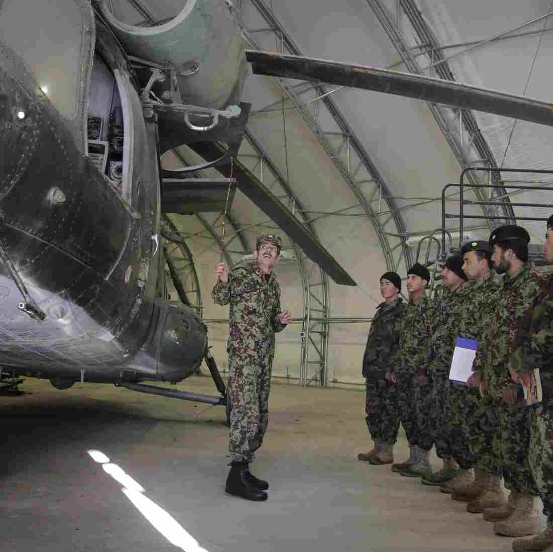 Afghan Air Force Races To Prepare For Solo Mission