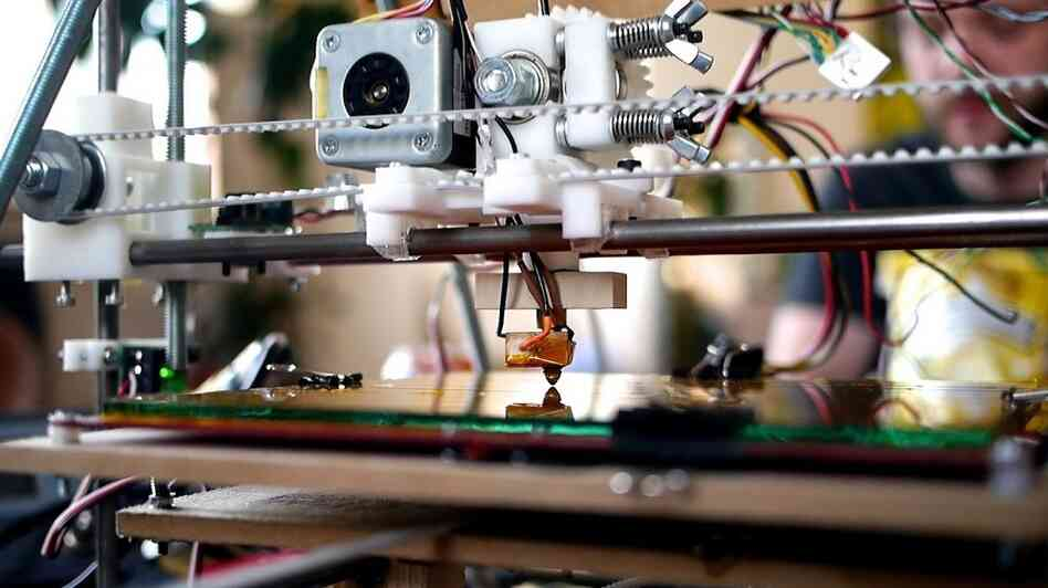 3-D printers can look complicated, but they're fairly easy to assemble.