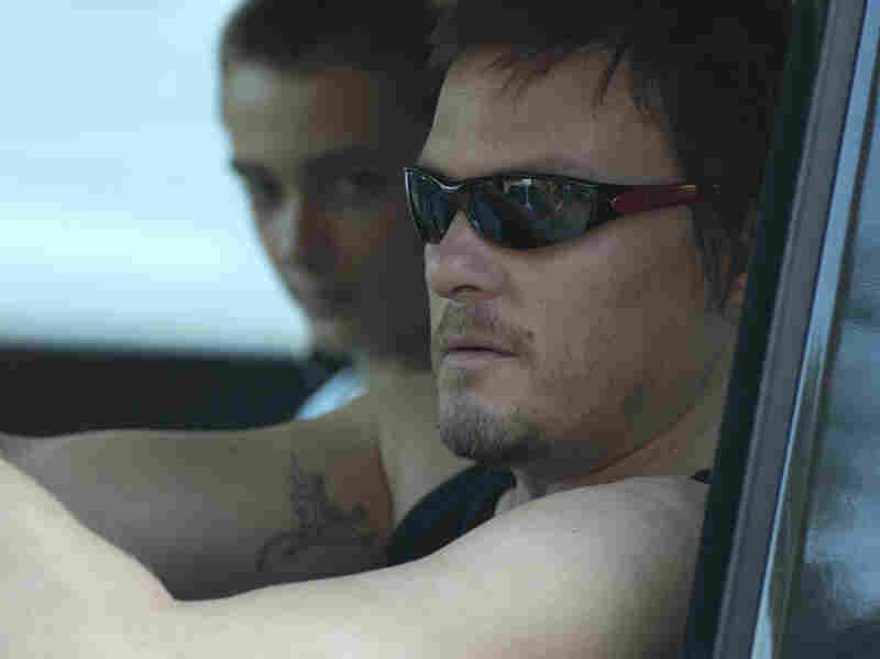 Further complicating things is the appearance of Melissa's abusive ex-boyfriend Justin (Norman Reedus).