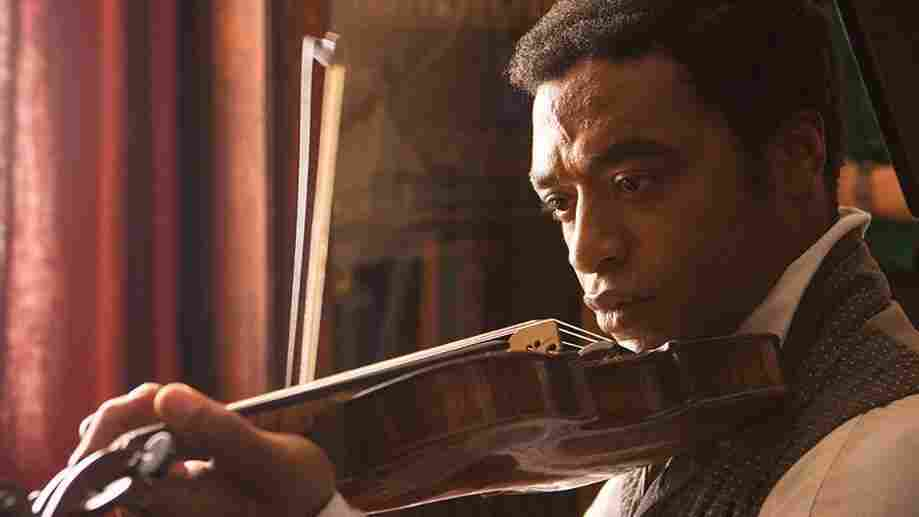 Chiwetel Ejiofor as Solomon Northup in 12 Years a Slave.