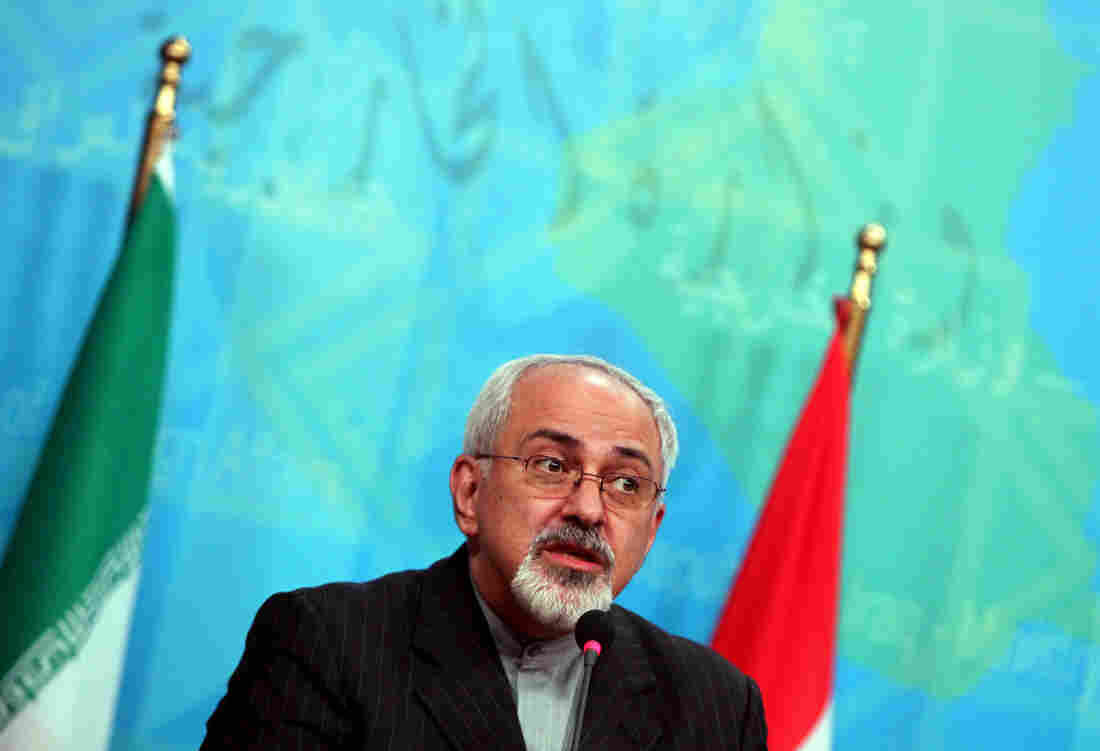 Iranian Foreign Minister Mohammad Javed Zarif.