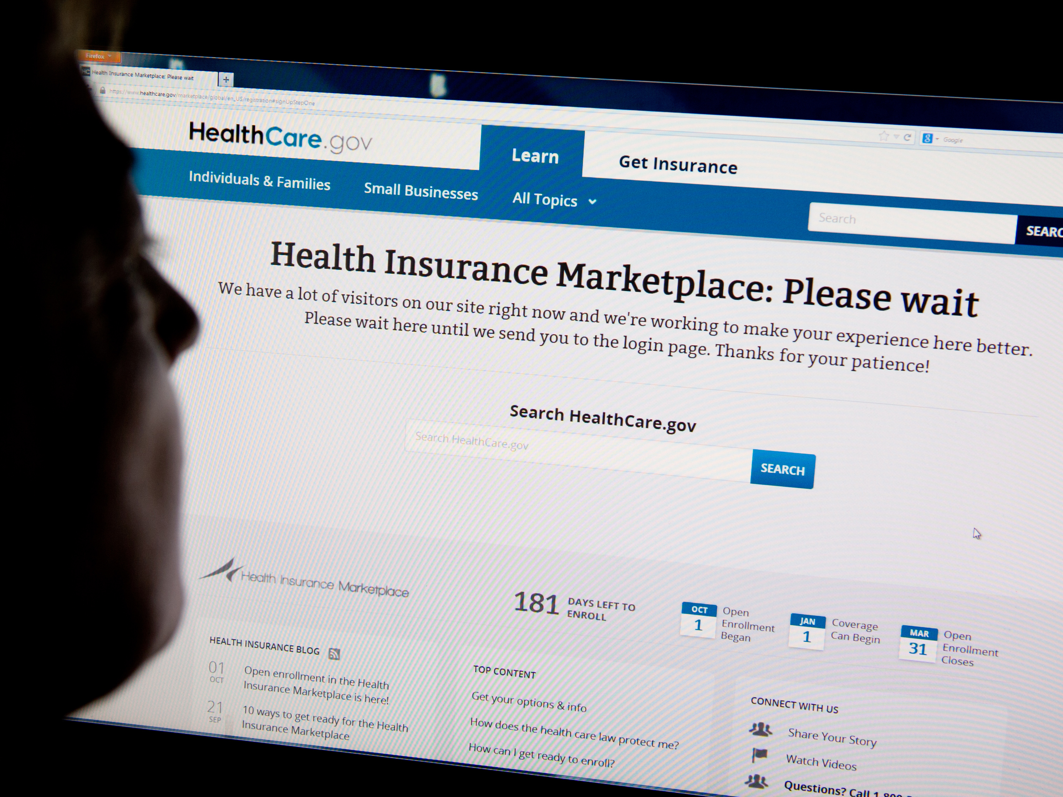 Administration Invites HealthCare.gov Users To Try Again
