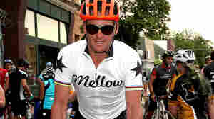 "The head of the World Anti-Doping Agency calls Lance Armstrong's lifetime ban ""done and dusted."" Armstrong is seen here riding in an event in Iowa this year."