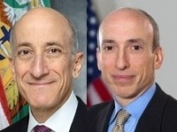 Meet the new boss? Timothy Massad, left, is to be nominated to replace Gary Gensler, right, as chairman of the Commodity Futures Trading Commission.
