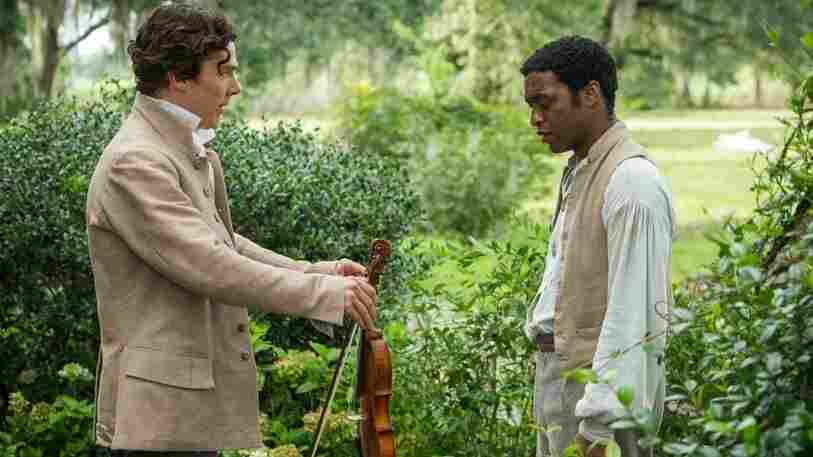 Benedict Cumberbatch (left) as Ford and Chiwetel Ejiofor as Solomon Northup in 12 Years a Slave.