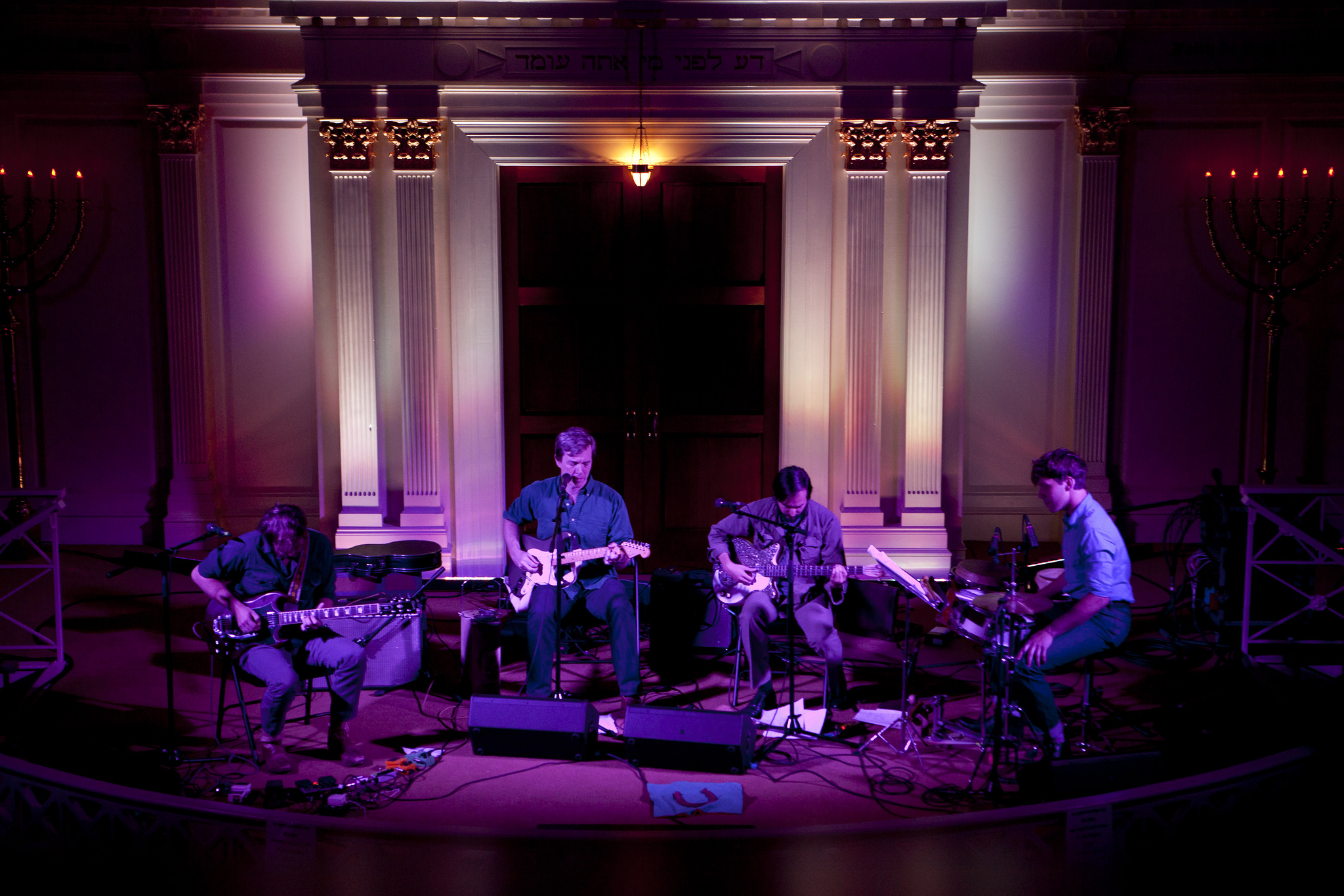 Bill Callahan and his band performed at the historic Sixth And I Synagogue in Washington, D.C. on Oct. 2, 2013.