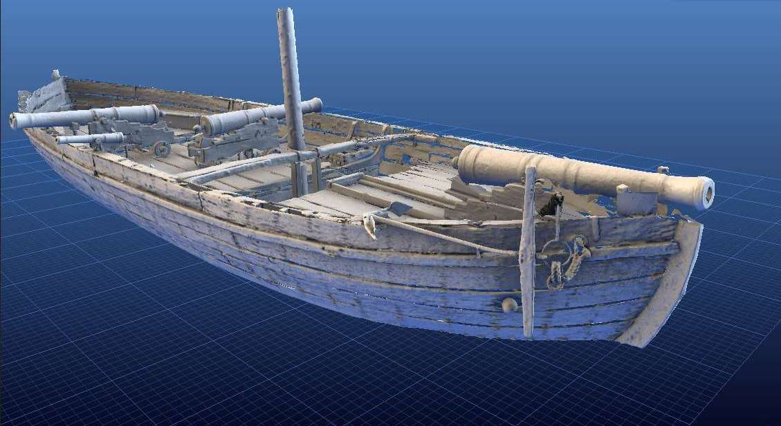 Print Your Own Revolutionary War Boat, In 3-D