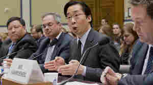 """Todd Park, U.S. chief technology officer, answers questions in a House Oversight Committee hearing about problems with the federal HealthCare.gov site. One Democrat on the committee called the hearing """"a kangaroo court."""""""