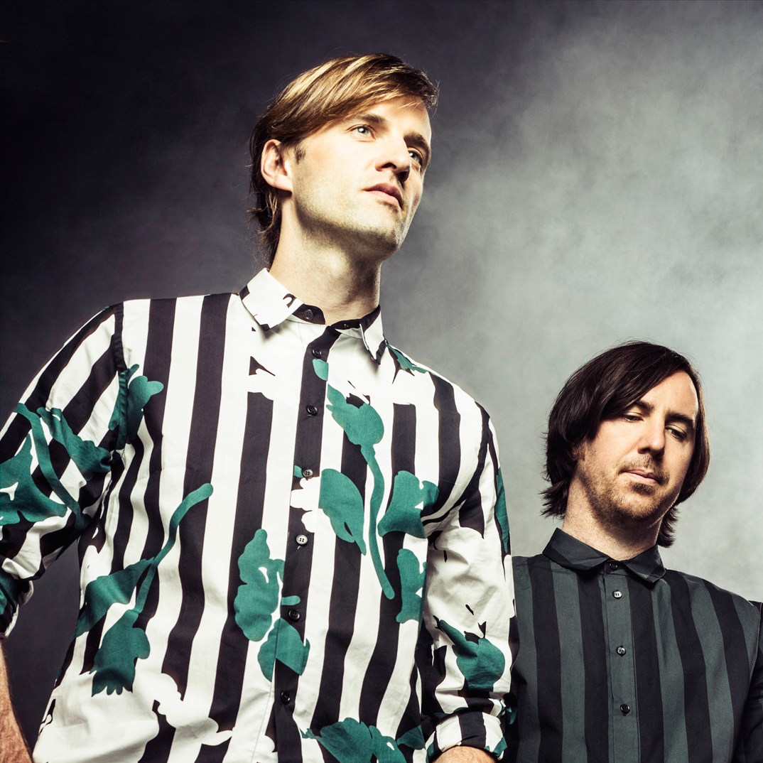 Cut Copy performs live for an NPR Music video webcast on Nov. 19.