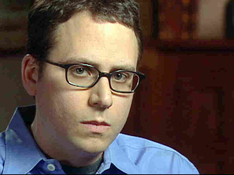 Stephen Glass during a 2003 interview with CBS News' 60 Minutes.
