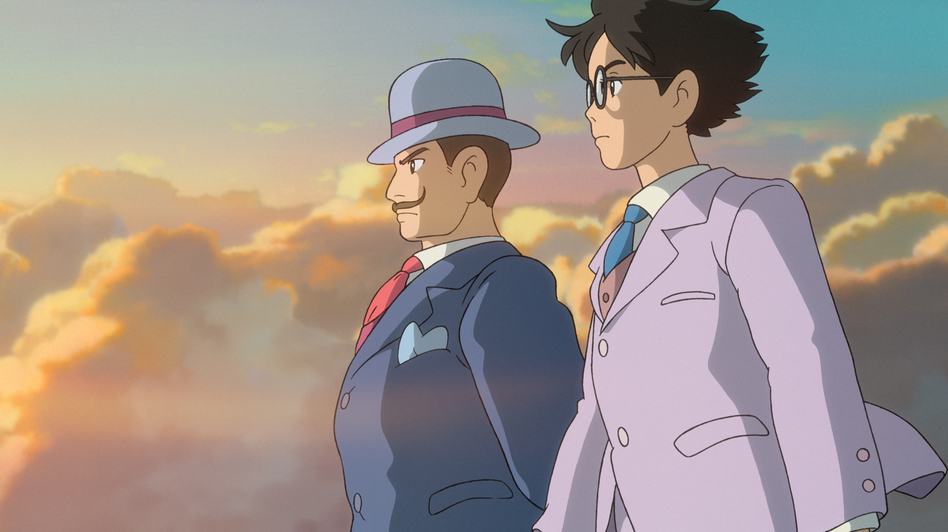 The latest film from celebrated Japanese animator Hayao Miyazaki, The Wind Rises, centers on the engineer who designed the plane used in the kamikaze attacks during World War II. (Walt Disney)