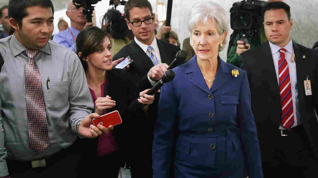 Health and Human Services Secretary Kathleen Sebelius issued a report Wednesday revealing that 106,185 Americans selected a health plan in the new marketplace from Oct. 1 to Nov. 2.