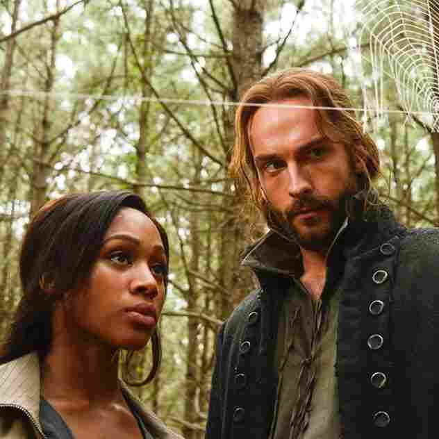 Nicole Beharie and Tom Mison play Abbie Mills and Ichabod Crane in Fox's new show Sleepy Hollow.