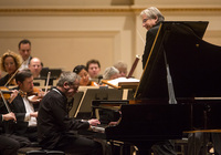 Jeremy Denk joined the orchestra for Mozart's Piano Concerto No. 25, a piece which the pianist calls