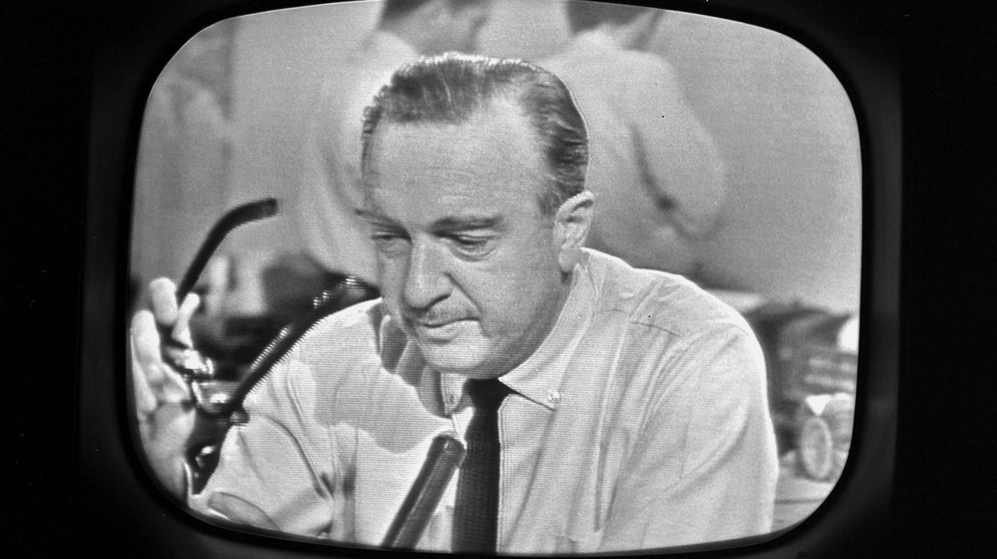 Listening In: Cronkite, Lady Bird On The Death Of A President