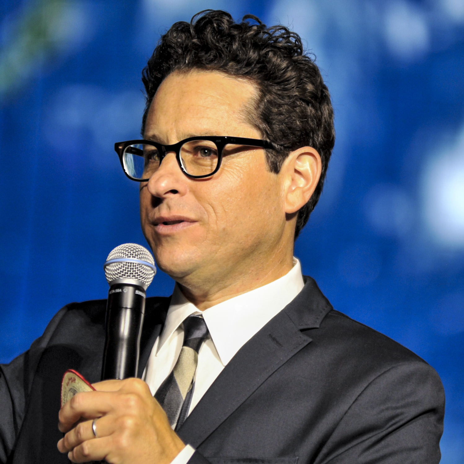J.J. Abrams attends an event for his recent film, Star Trek: Into Darkness, in Tokyo in August.