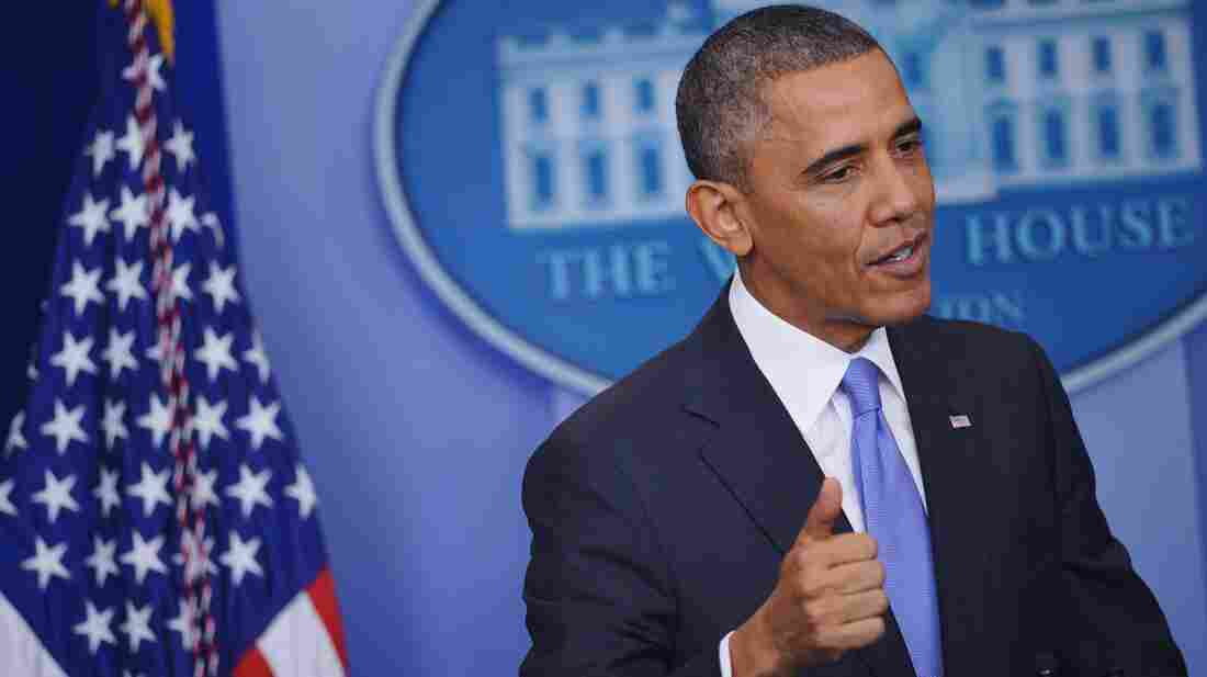 """In a White House news conference Thursday, President Obama said he had thought that """"98 percent"""" of policyholders would see no change in their current policies, or get a better deal."""