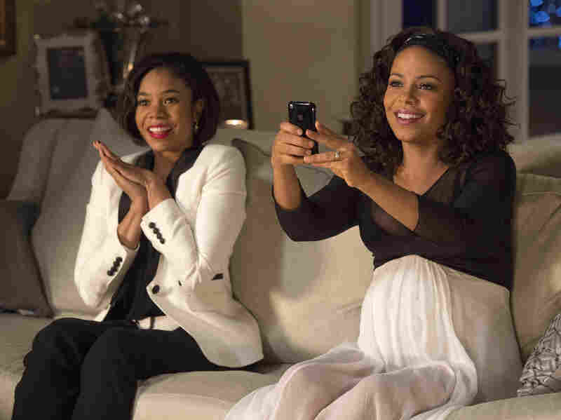 Regina Hall (left) and Sanaa Lathan (right) in The Best Man Holiday.