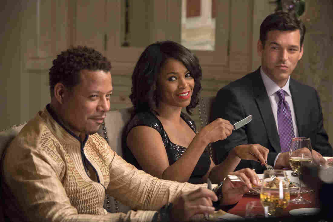 Terrence Howard, Nia Long and Eddie Cibrian in The Best Man Holiday.