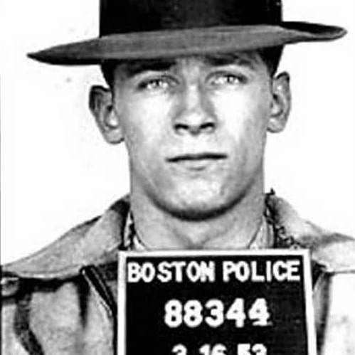 "A 1953 mug shot of James ""Whitey"" Bulger."
