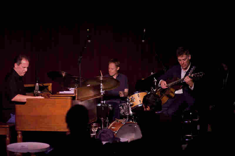 Larry Goldings, Bill Stewart and Peter Bernstein have played together as a trio for over 20 years.