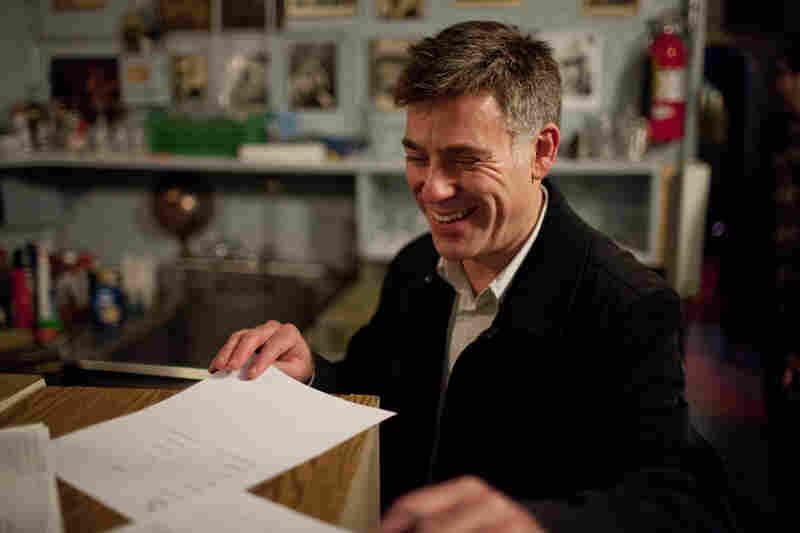 Peter Bernstein, backstage.