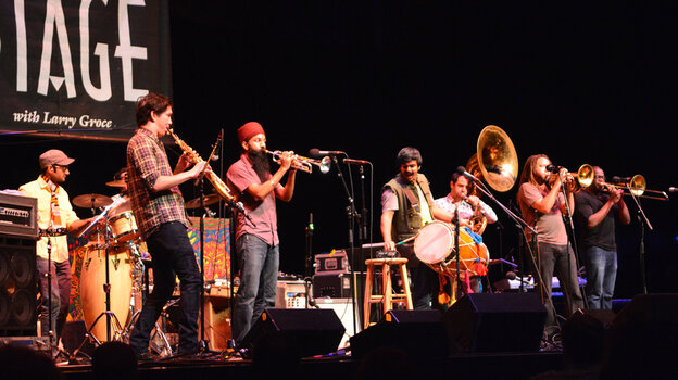 Red Baraat performs live on Mountain Stage.