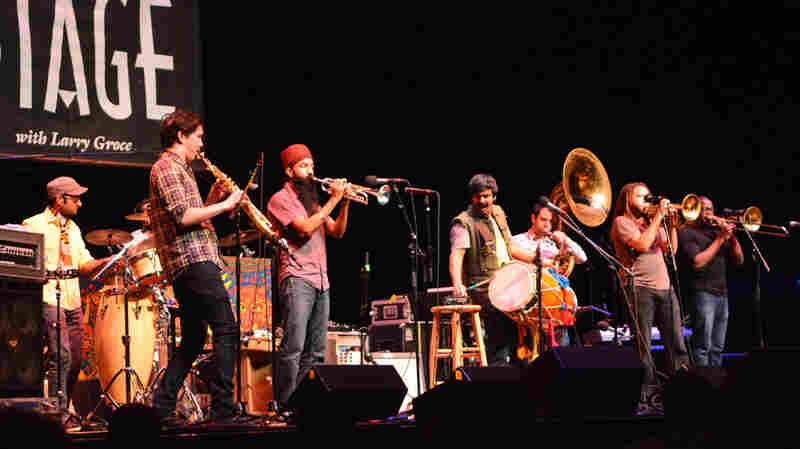 Red Baraat On Mountain Stage